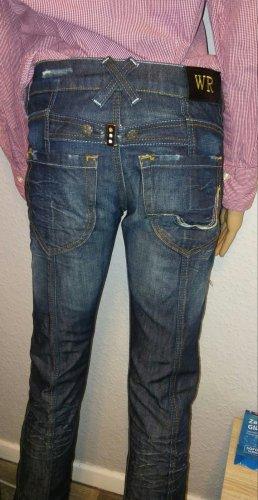 Replay Tube jeans veelkleurig Katoen