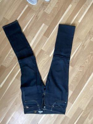 Replay Jeansy z prostymi nogawkami ciemnoniebieski