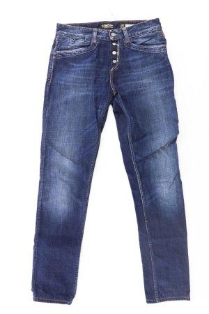 Replay Jeans mit Knopfleiste  blau Größe W 27 L 34