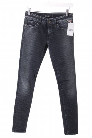 Replay Jeans mit Rautenmuster
