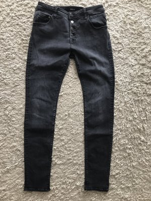 Replay Slim Jeans black-anthracite