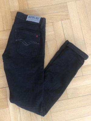 Replay Jeans schwarz XS S 27 34