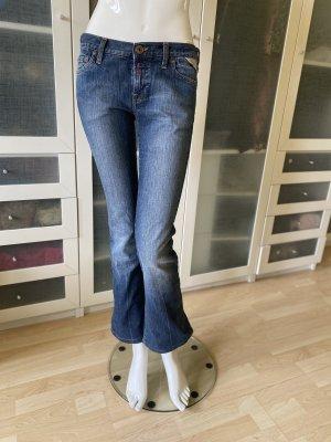 Replay Jeans Stretch mit Schlag Gr 29 top