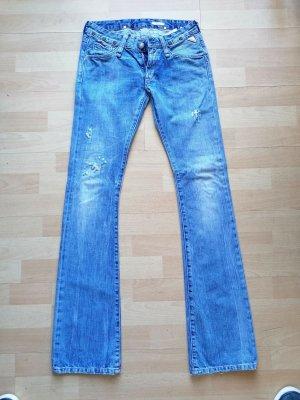 Replay Biker Jeans cornflower blue cotton