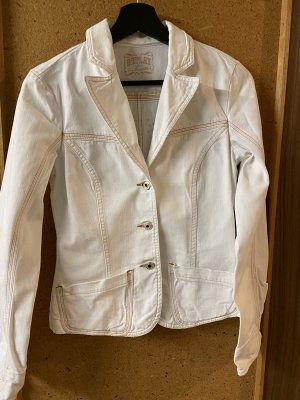 Replay Blazer in jeans bianco