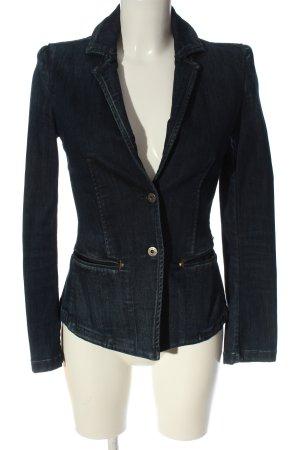 Replay Blazer in jeans blu stile casual