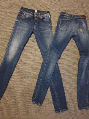 0039 Italy Vaquero slim azul