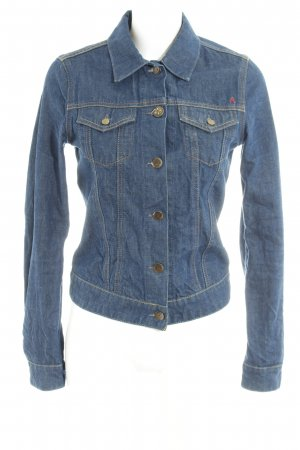 Replay Jeansjacke dunkelblau Casual-Look