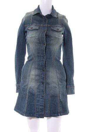 Replay Jeanskleid blau Casual-Look
