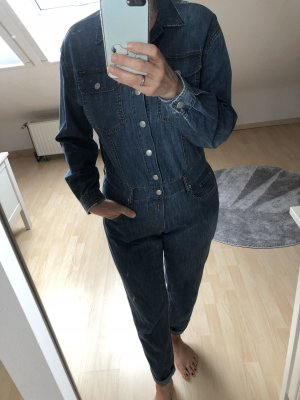 Replay Jumpsuit cornflower blue cotton