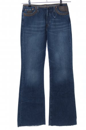 Replay Jeansschlaghose blau Casual-Look