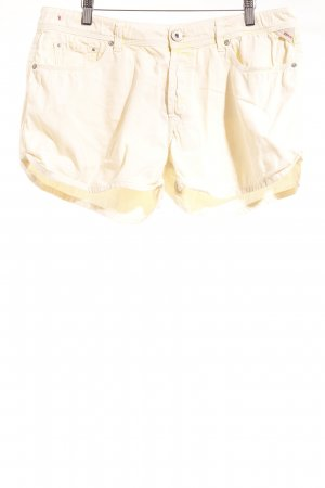 Replay Jeansshorts hellgelb-gelb Casual-Look