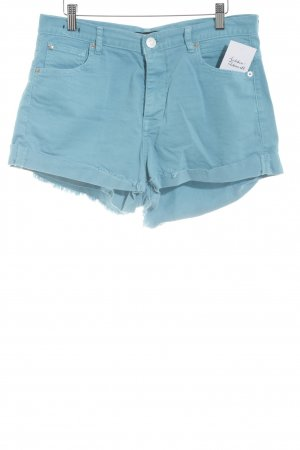 Replay Jeansshorts türkis Casual-Look