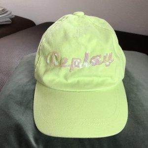 Replay Berretto da baseball verde pallido-verde neon