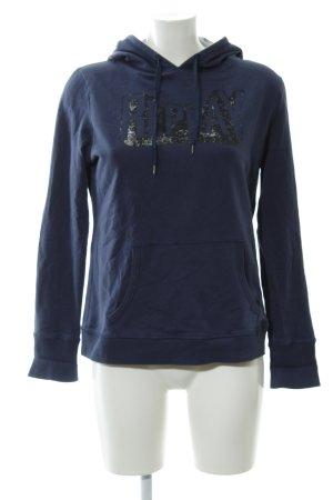 Replay Kapuzensweatshirt Schriftzug gedruckt sportlicher Stil