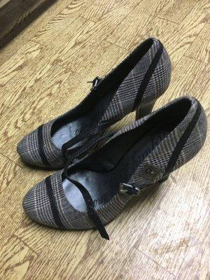 Replay karierter Schuh mit hohem Absatz, Highheel