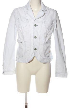 Replay Korte blazer wit casual uitstraling