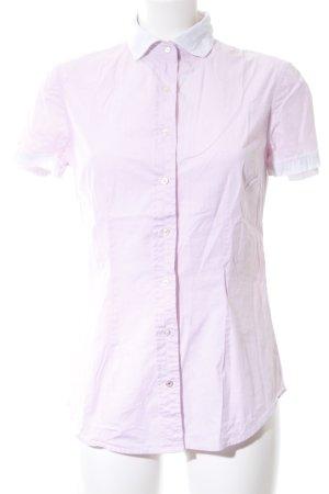 Replay Shirt met korte mouwen roze zakelijke stijl