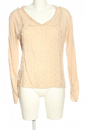 Replay Langarm-Bluse nude Casual-Look