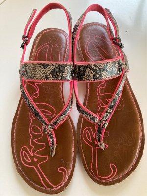 Replay Leder Sandale Größe 39