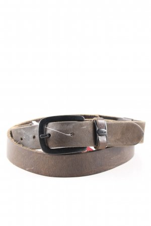 Replay Leather Belt brown casual look