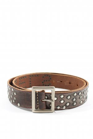 Replay Faux Leather Belt brown street-fashion look