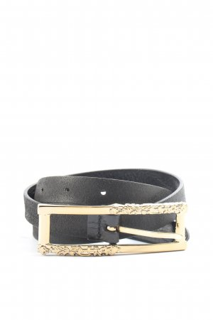 Replay Faux Leather Belt black casual look
