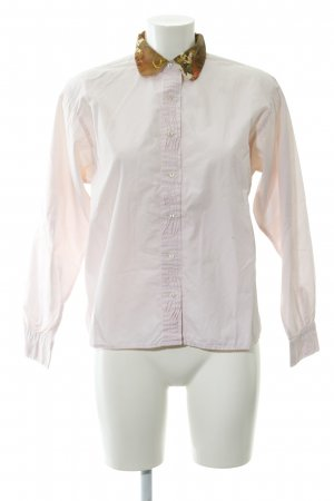 Replay Long-Bluse rosé-hellbraun Mustermix Business-Look