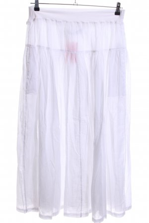 Replay Maxi Skirt white casual look