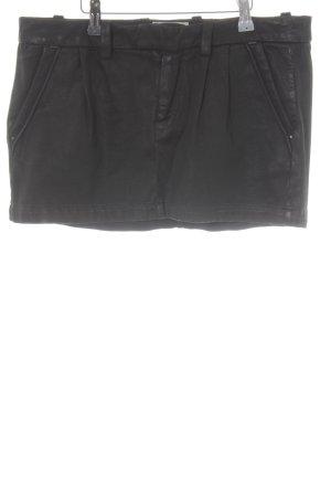 Replay Minirock schwarz schlichter Stil