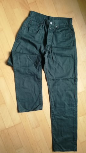 Replay Five-Pocket Trousers dark green cotton