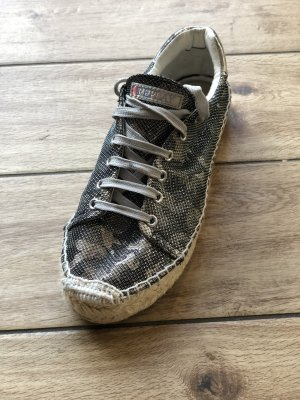 Replay Lace-Up Sneaker silver-colored-light grey