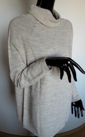 Replay, neuer weit geschnittener Pullover hellbeige, Gr.M