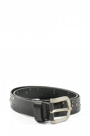 Replay Studded Belt black casual look