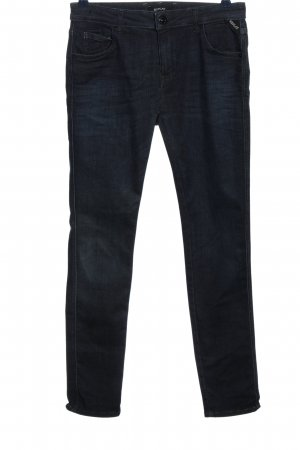 Replay Drainpipe Trousers blue casual look