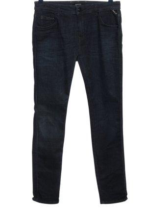 Replay Röhrenhose blau Casual-Look