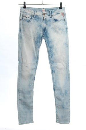 Replay Röhrenjeans blau Casual-Look