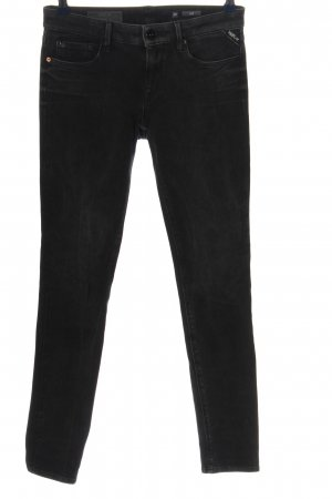 Replay Tube Jeans black casual look