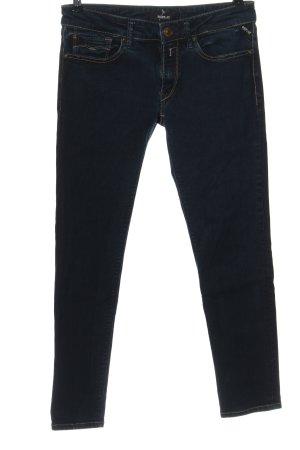 Replay Jeans cigarette bleu style décontracté