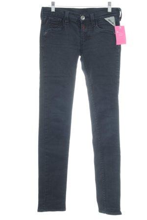 Replay Jeans cigarette noir style décontracté