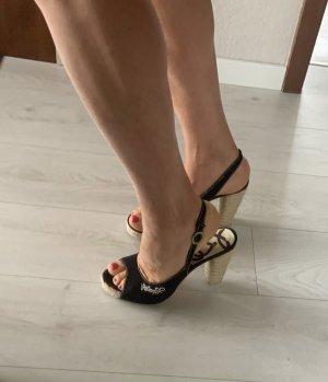 Replay Espadrille Sandals black