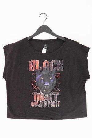 Replay Print Shirt black viscose