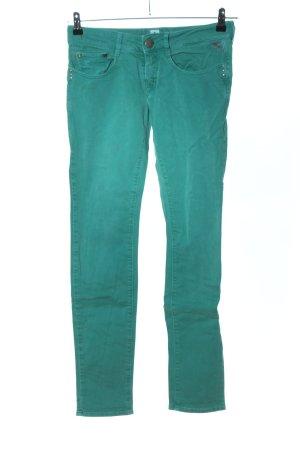 Replay Skinny Jeans grün Casual-Look