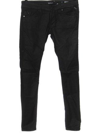 Replay Skinny Jeans schwarz Casual-Look