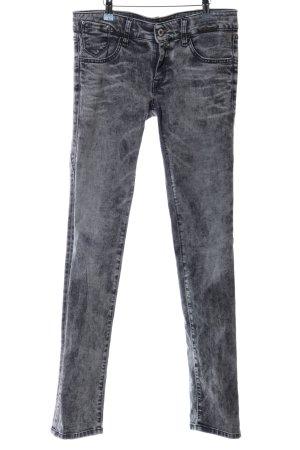 Replay Skinny Jeans schwarz meliert Casual-Look