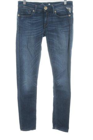 Replay Skinny Jeans blau schlichter Stil