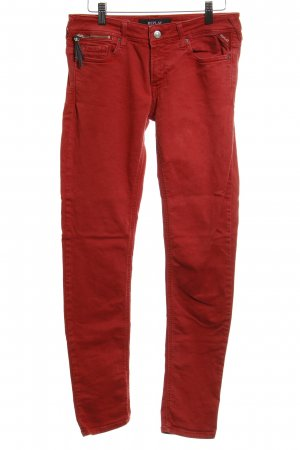 Replay Skinny Jeans rot Casual-Look