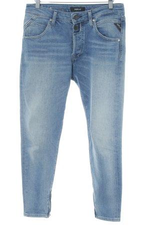 Replay Skinny Jeans stahlblau Casual-Look