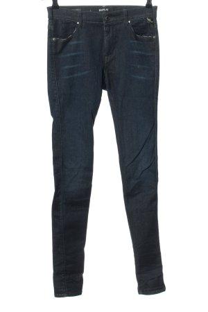 Replay Slim Jeans blau Casual-Look
