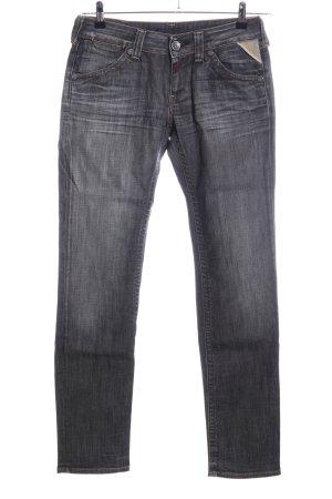 Replay Slim Jeans hellgrau Casual-Look